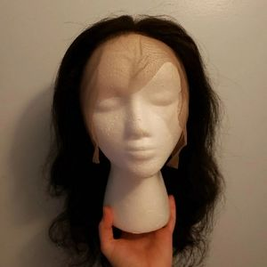 Human hair 360 lace 14 inches